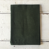 Fog Linen | Linen Tea Towel - Forest Green