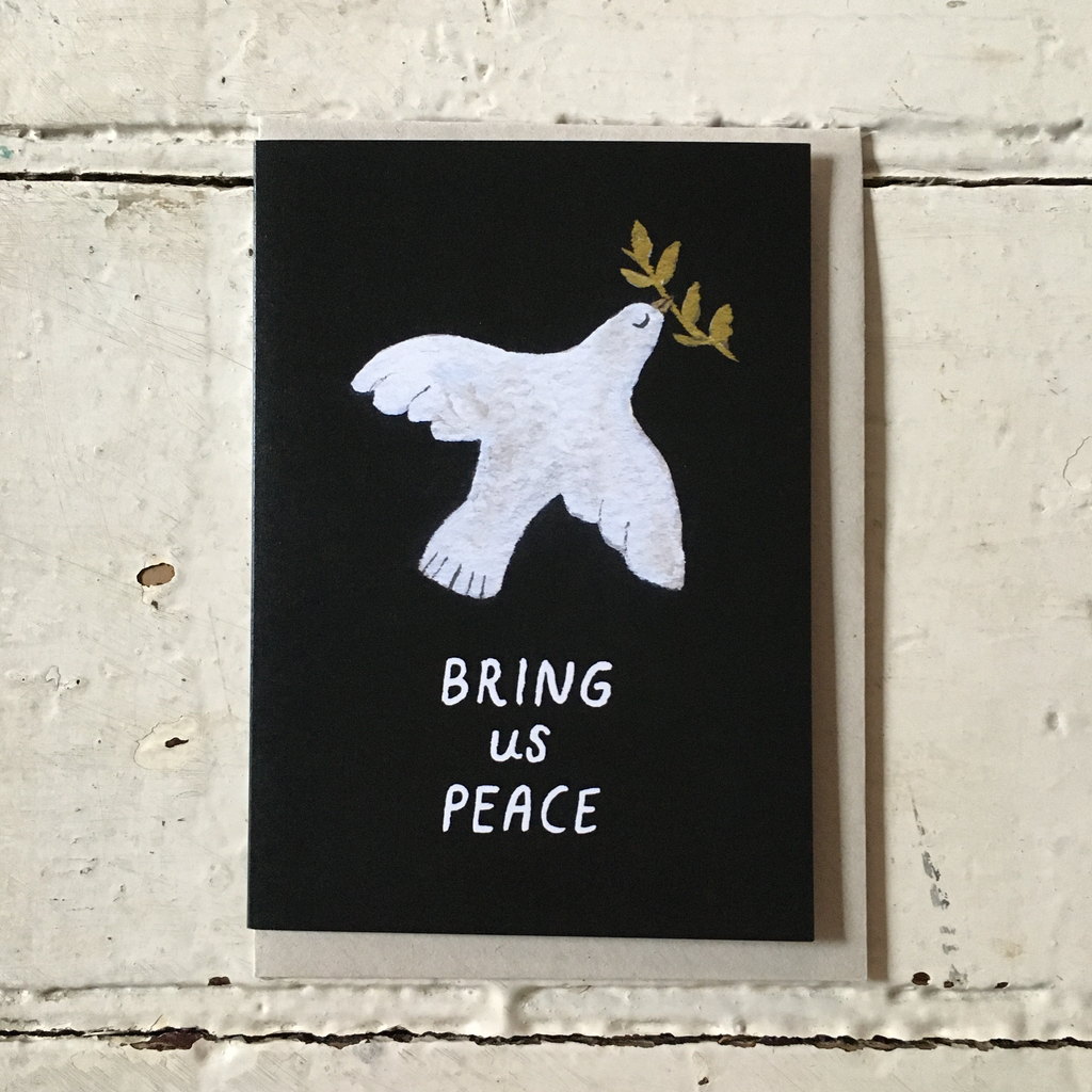 Gemma Koomen | Greeting Card - Bring Us Peace