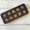 Wooden Egg Holder - Large (2 Wood Stains Available)