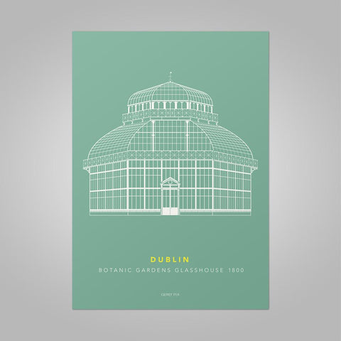 Clover Rua |  Botanic Gardens Print - (Two Sizes Available)