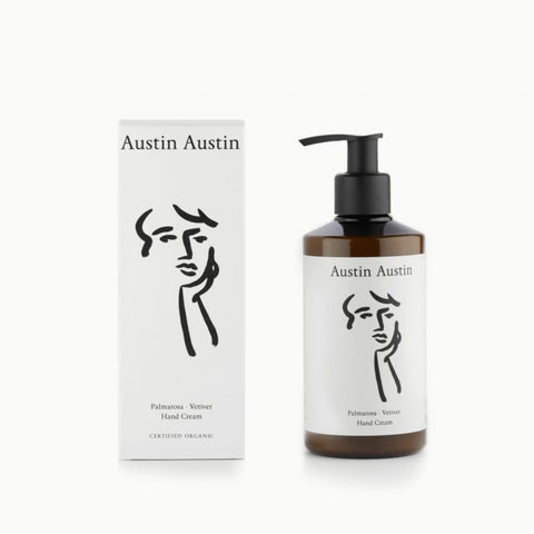 Austin Austin | Palmarosa & Vetiver Hand Cream - 250ml