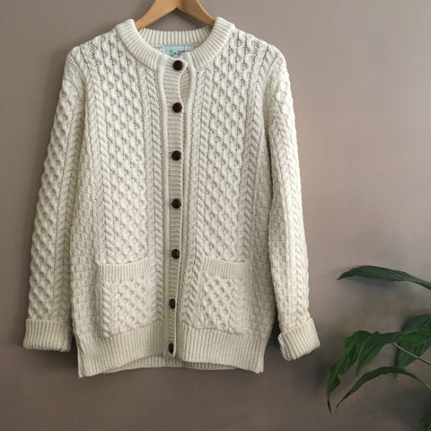 Original Aran Company | Cream Cardigan