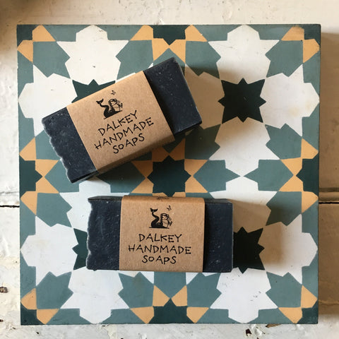 Dalkey Handmade Soap | Dubh Activated Charcoal Soap Bar