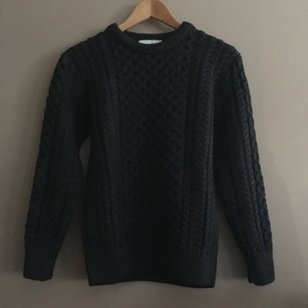 Original Aran Company | Unisex Sweater - Charcoal