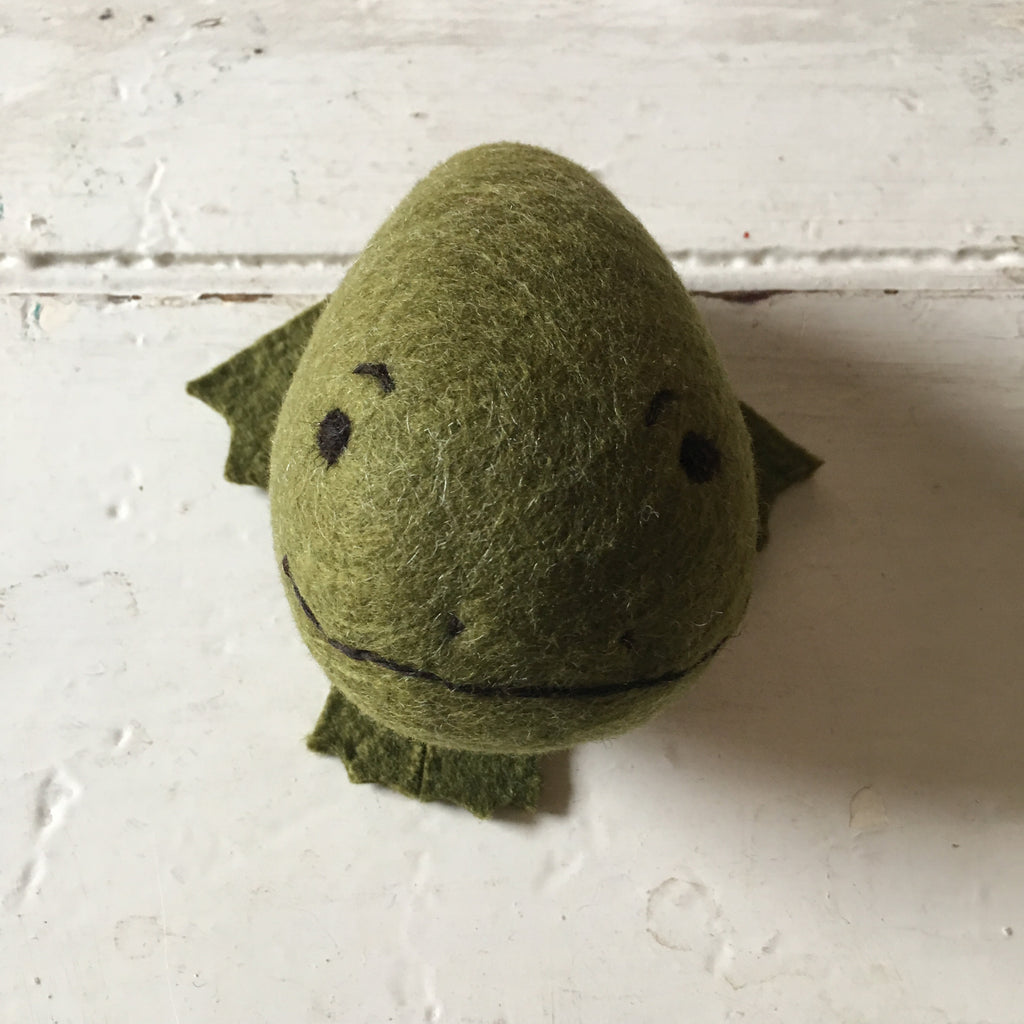 Flock | Felted Frog