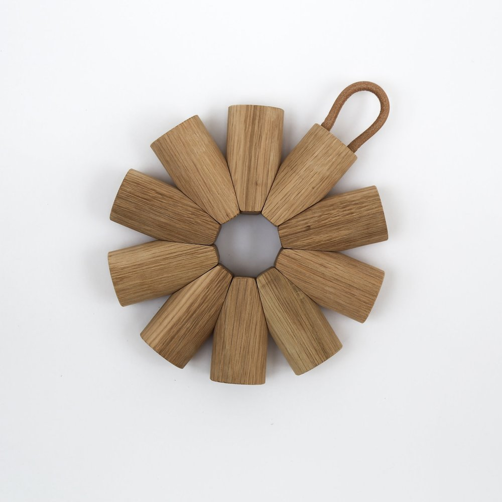 Superfolk | Oak Trivet