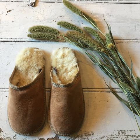 Unisex Sheepskin Slippers