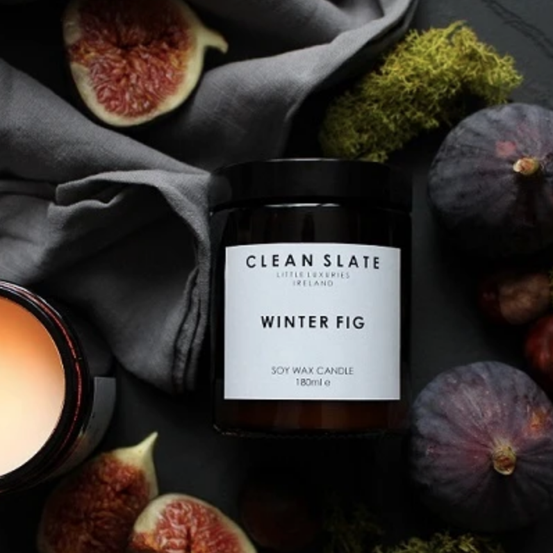 Clean Slate | Soy Wax Candle - Winter Fig