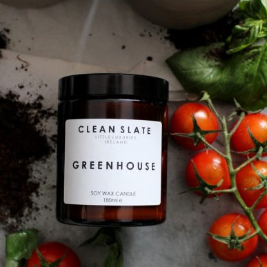 Clean Slate | Soy Wax Candle - Greenhouse