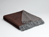 McNutt | Luxury Collection Pure Wool Blanket - Rosewood Reversible