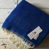McNutt | Home Pure Wool Blanket - Bold Blue