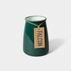 Falcon | Enamel Utensil Pot/vase - Green
