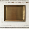 Fog Linen | Rectangle Brass Plate