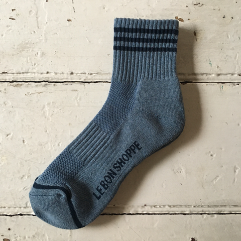 Le Bon Shoppe | Girlfriend Socks - Indigo