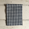 Fog Linen | Linen Tea Towel - Navy Gingham