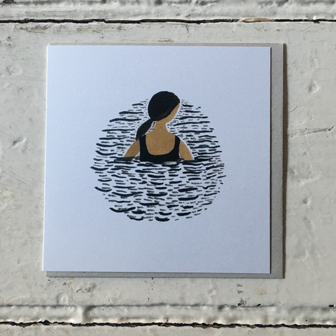 Gemma Koomen | Greeting Card - One In The Sea