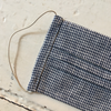 Fog Linen | Kid's Face Covering - Navy Houndstooth