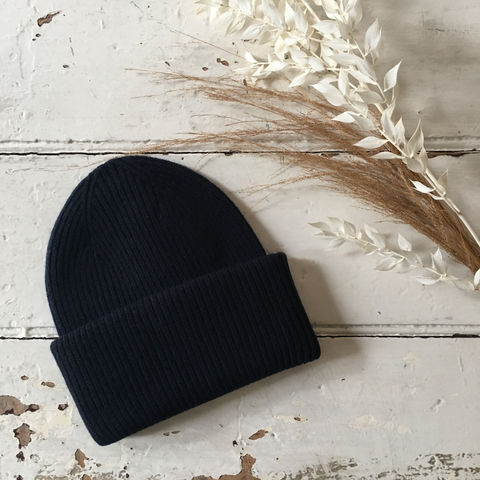 Colourful Standard | Merino Wool Hat - Navy