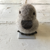 Flock | Felted Small Duck - Grey