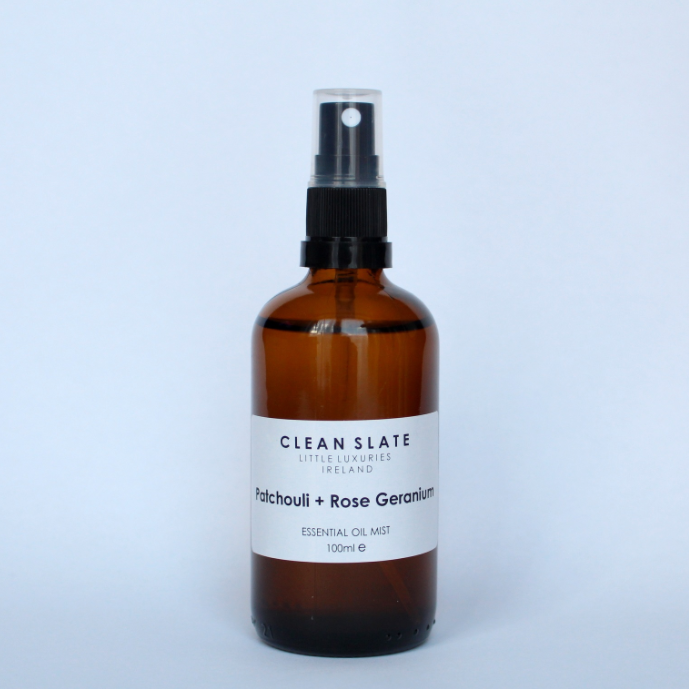 Clean Slate | Room Spray - Patchouli & Rose