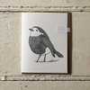 The Pear In Paper | Greeting Card - Robin