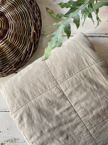 Ib Laursen | Cotton Quilt - Oat