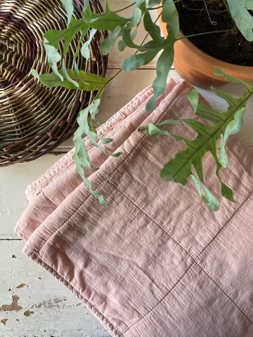 Ib Laursen | Cotton Quilt - Rose Shadow