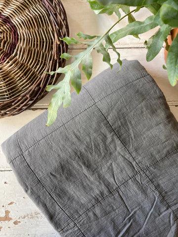 Laursen | Cotton Quilt - Smoke Grey