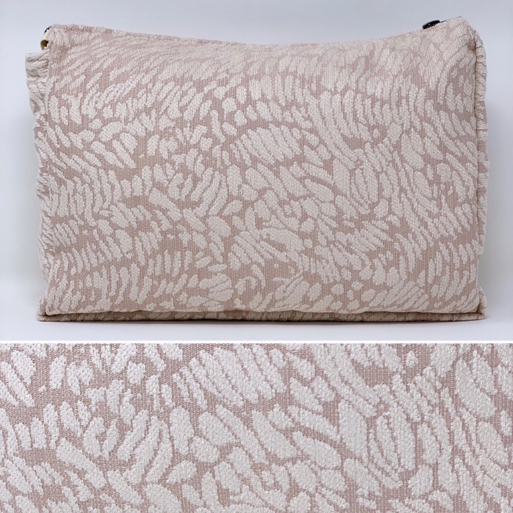 "The Perfect Pair: ""The Big One"" and ""The Little One"" Makeup Bag // Blush Abstract Animal Print"