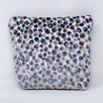 """The Little One"" Makeup Bag//Lee Jofa Salsa Two Spot Cut Velvet"