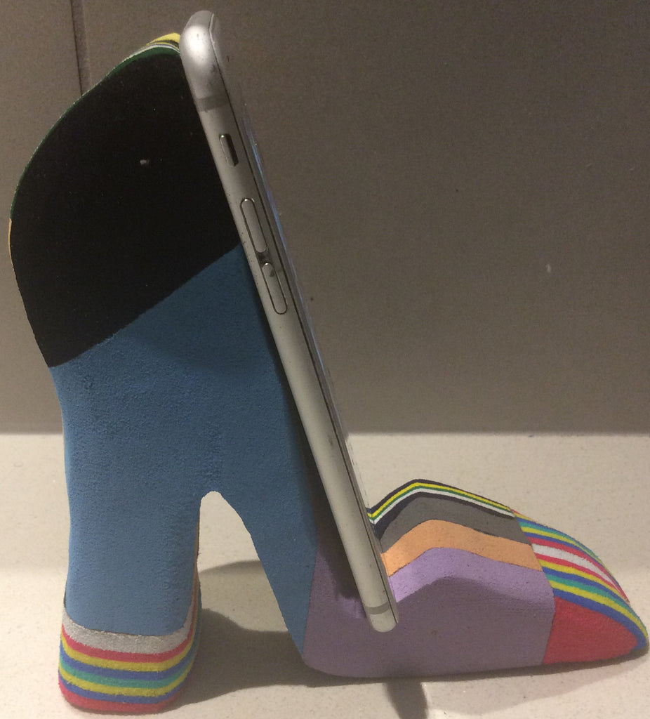 Shoe -Recycled flip flops-Phone holder