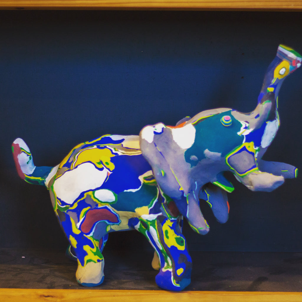 Eco-Friendly Elephant (medium)
