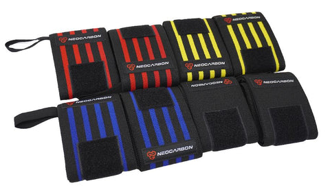 Our wrist wraps are available in variety of colors.