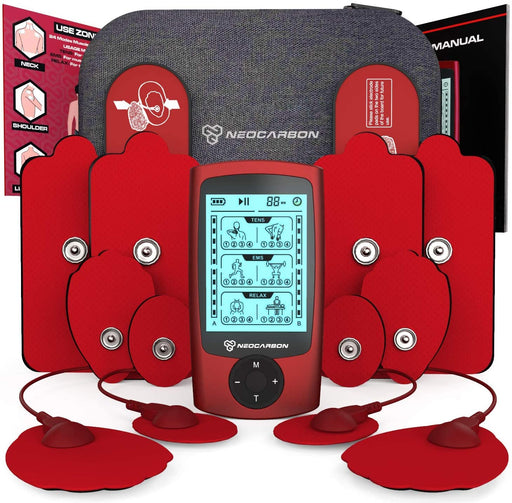 NEOCARBON TENS EMS PULSE MUSCLE STIMULATOR