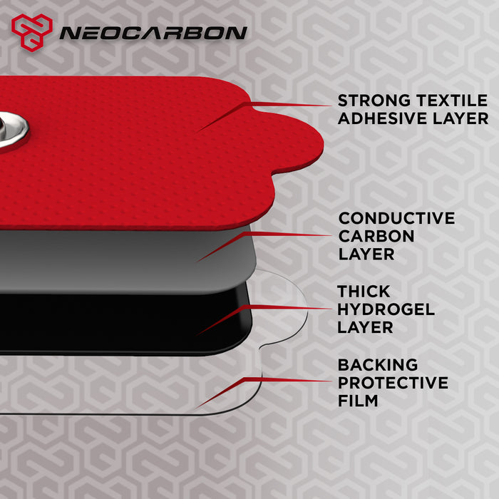 NEOCARBON TENS EMS REPLACEMENT PADS