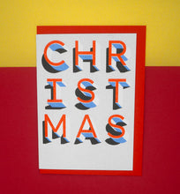 Load image into Gallery viewer, best-christmas-card-red-writing