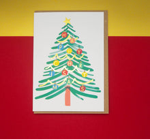 Load image into Gallery viewer, happy-christmas-tree-card