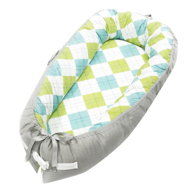 Newborn Baby Portable Removable And Washable Crib Travel Bed Nest Bed Crib Cotton new Crib Travel Bed For Children Infant Kids