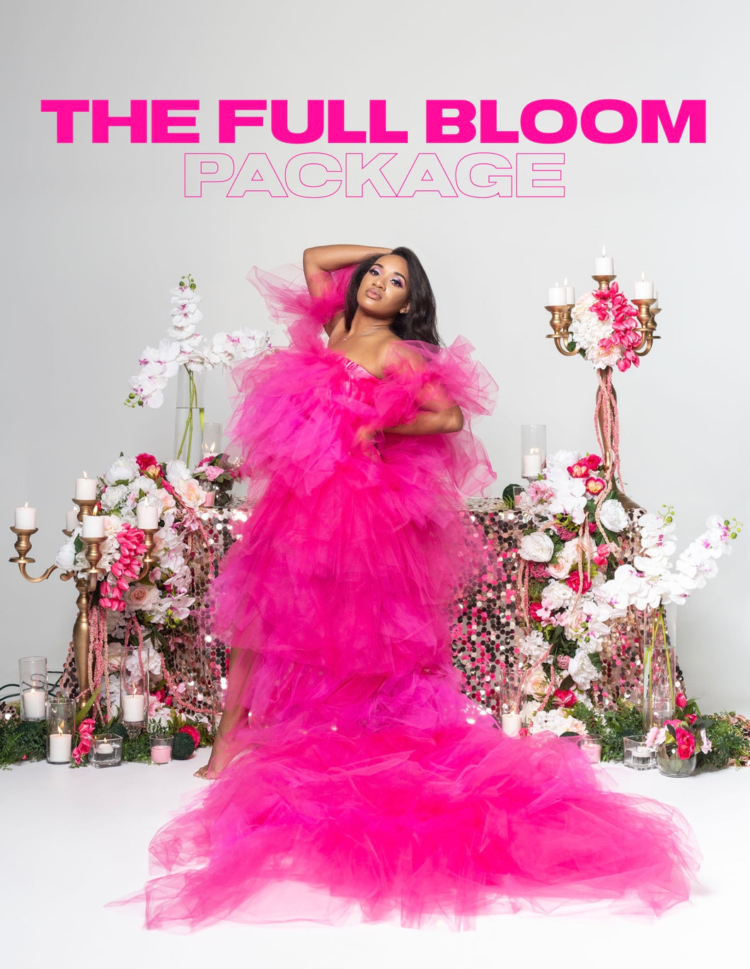 The FULL BLOOM PACKAGE (PAY IN FULL OPTION)