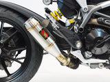 Ducati Hypermotard 821 Slip-On Exhaust