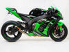 Kawasaki ZX10 Slip-On Exhaust | 2016+ | Race