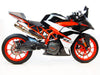 KTM RC390 Slip-On Exhaust | High Mount | 2017+
