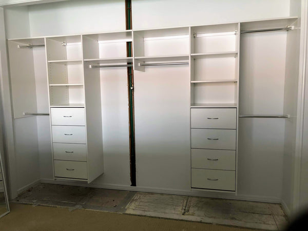 Spacemaker Wardrobes Diy Wardrobes Amp Sliding Wardrobe