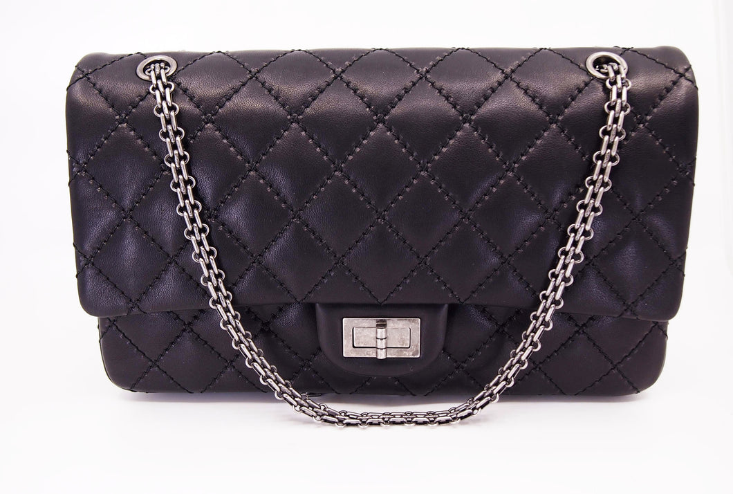 CHANEL 2.55 Reissue 227 Lambskin Double Flap