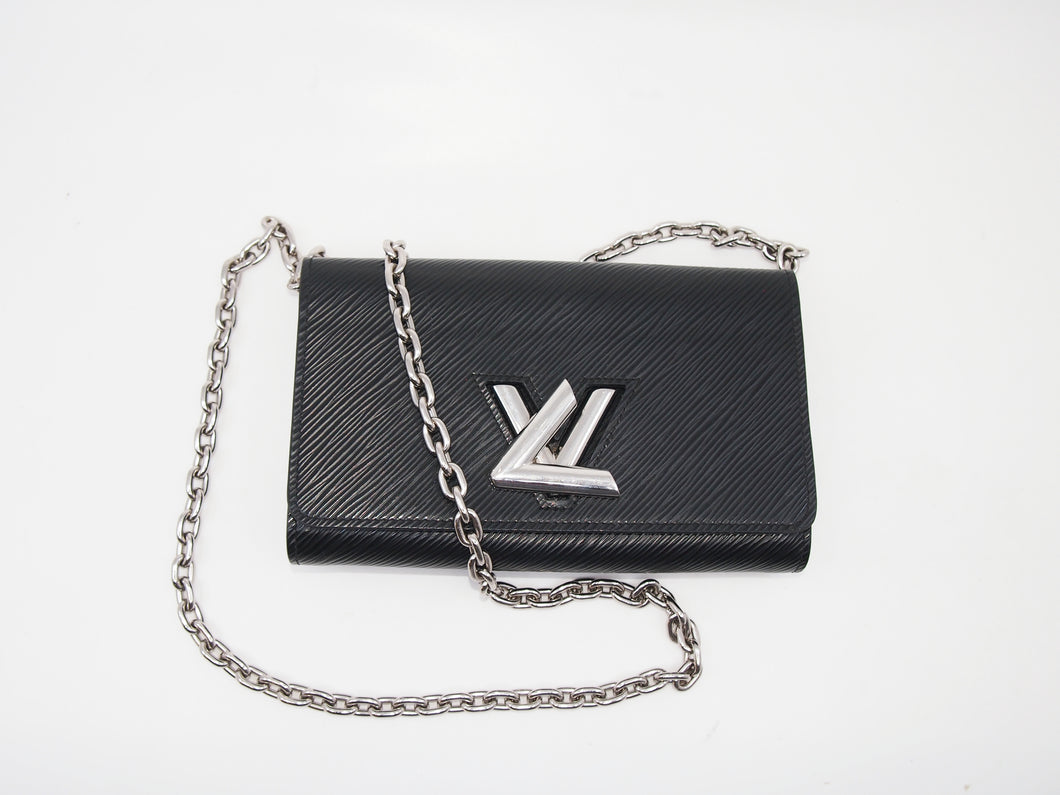 LOUIS VUITTON Twist Wallet On Chain Epi
