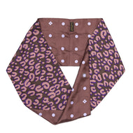 LOUIS VUITTON Silk Infinity Snood Scarf