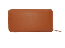 HERMES Azap Classique Long Wallet Golden Tan