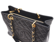 CHANEL GST Grand Shopping Tote Black Caviar