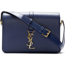 YVES SAINT LAURENT Universitè Indigo Blue Handbag