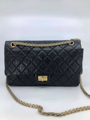 Chanel Cobalt Blue Chain Handle New Medium Boy Bag